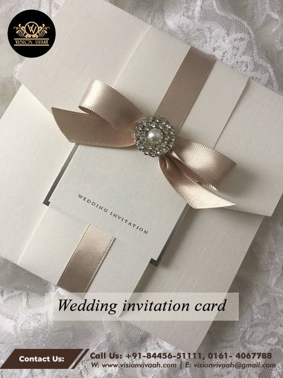 Wedding Invitation Card Services In Chandigarh