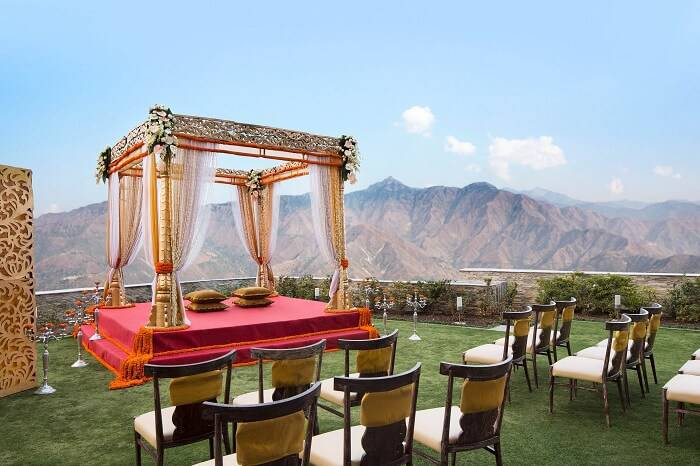 top destination wedding places in India