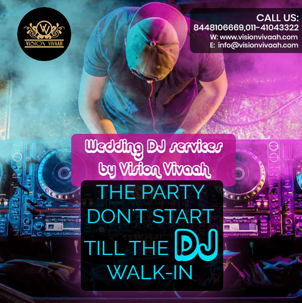 Wedding DJ Services In Delhi